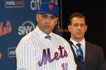 Mets Carlos Beltran Is Clearly In The Line Of Fire Of Mlb